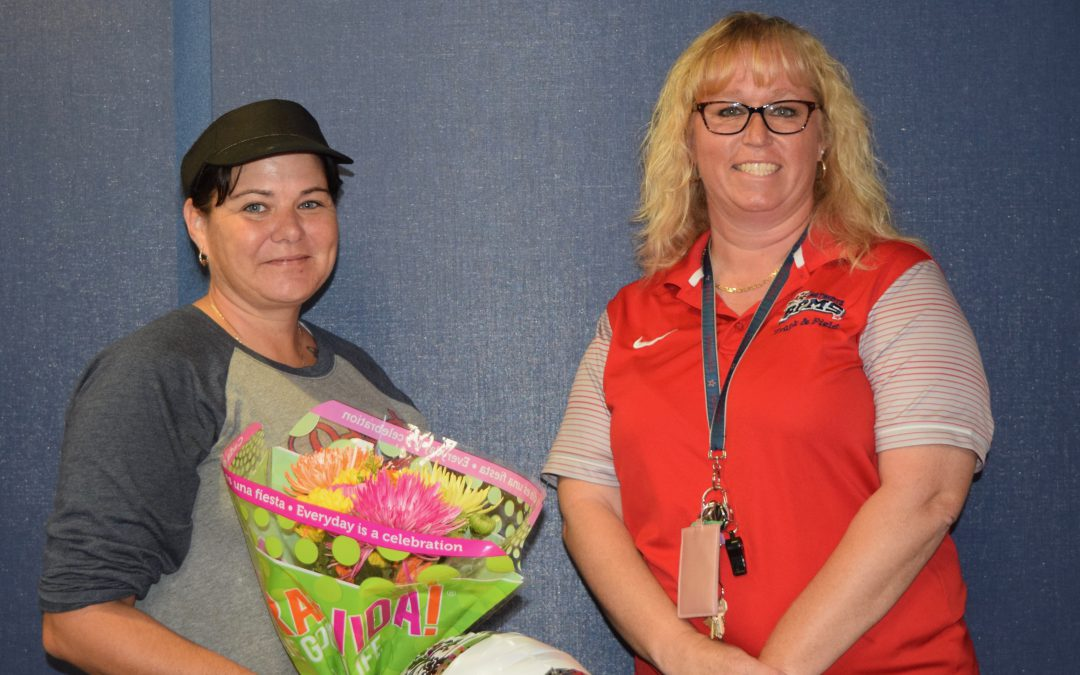 Congratulations! Ms. Palmgren & Ms. Flynn (TOY and SRP of the Year)