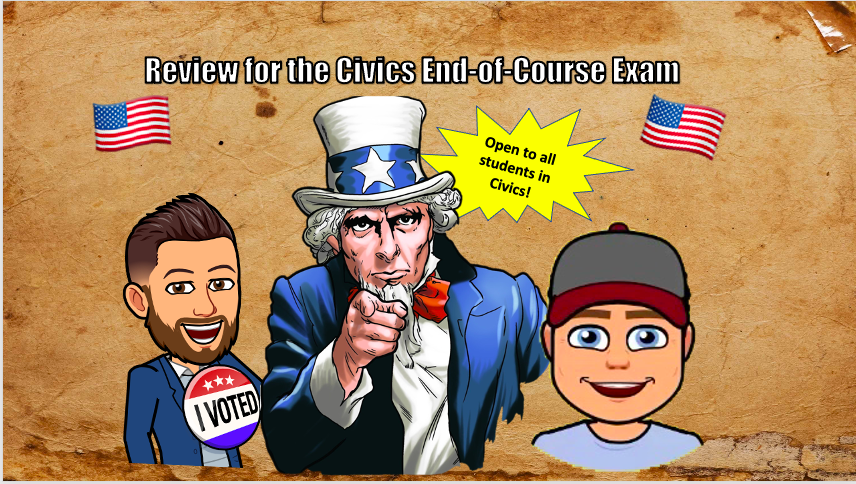Civics Boot Camp for the End-Of-Course Exam