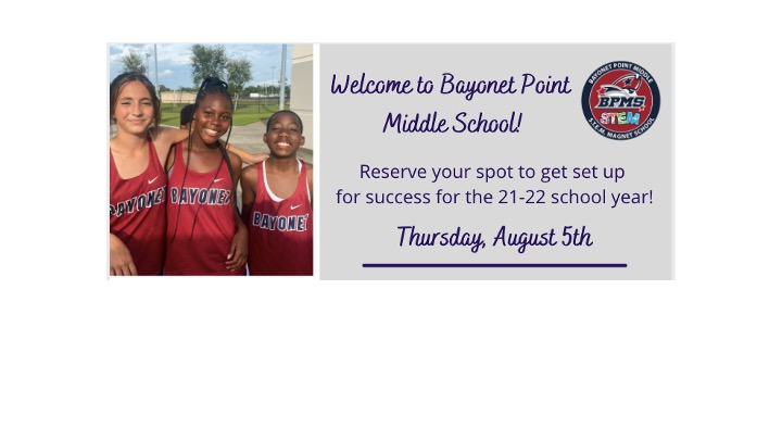 Registration Day – August 5th